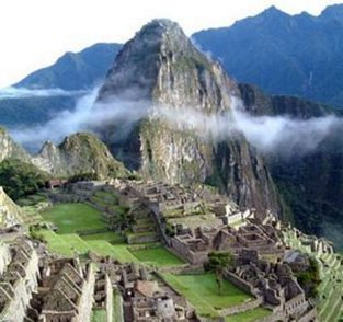 Machu Pichu. Susana Sori performs the Nine Rights of Spiritual Initiation in the original Quechau language of the Peruvian Shamans