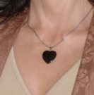 Obsidian Heart Energy Protection from Susana Sori at HR Shaman. Image copyright, 2010 by Susana Sori